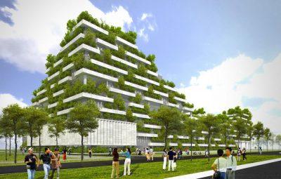 kiến trúc xanh trường đại học fpt sài gòn