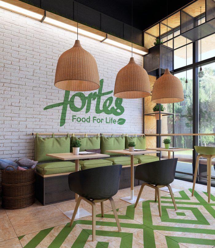 mẫu thiết kế quán cafe ăn uống đẹp tại bình dương