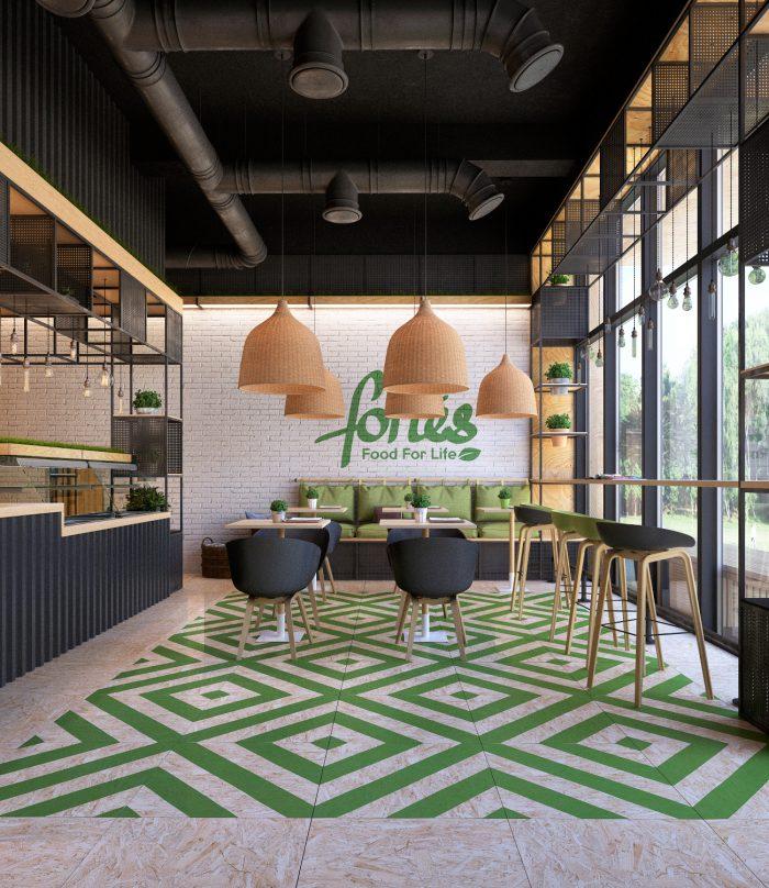mẫu thiết kế quán cafe đẹp bình dương 01