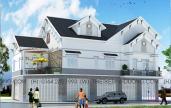 thiết kế kiến trúc nhà biệt thự phố tại bình dương