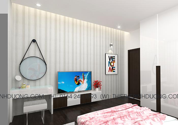 thiết kế phòng ngủ bd