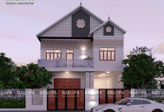 thiết kế nhà biệt thự 10x20m tại thủ dầu một