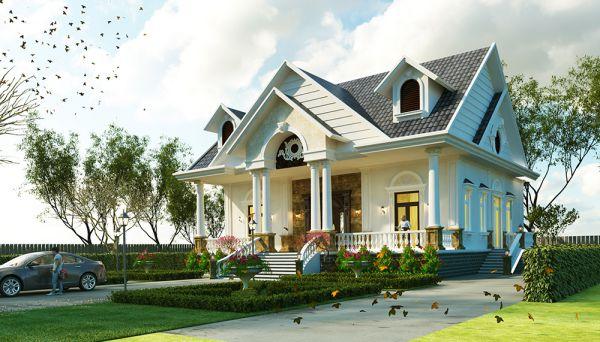 thiết kế kiến trúc nhà vườn tại bình dương