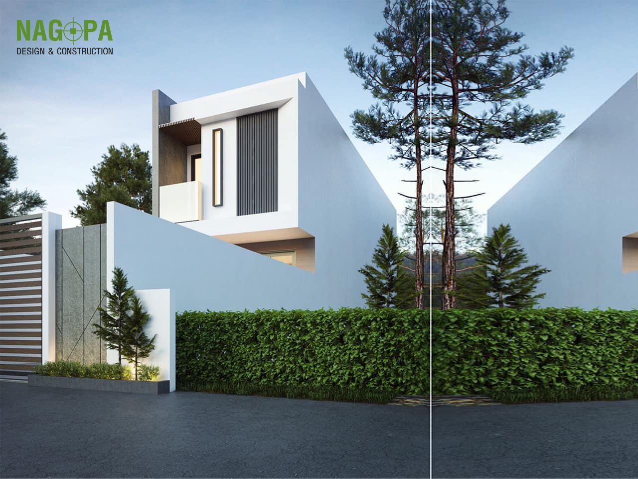 thiết kế nhà phố 4x14m tại hiệp an thủ dầu một
