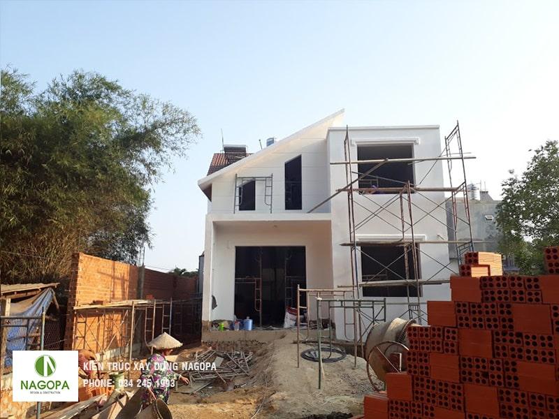 tiến độ xây dựng hoàn thiện nhà anh giang tại thủ dầu một 02
