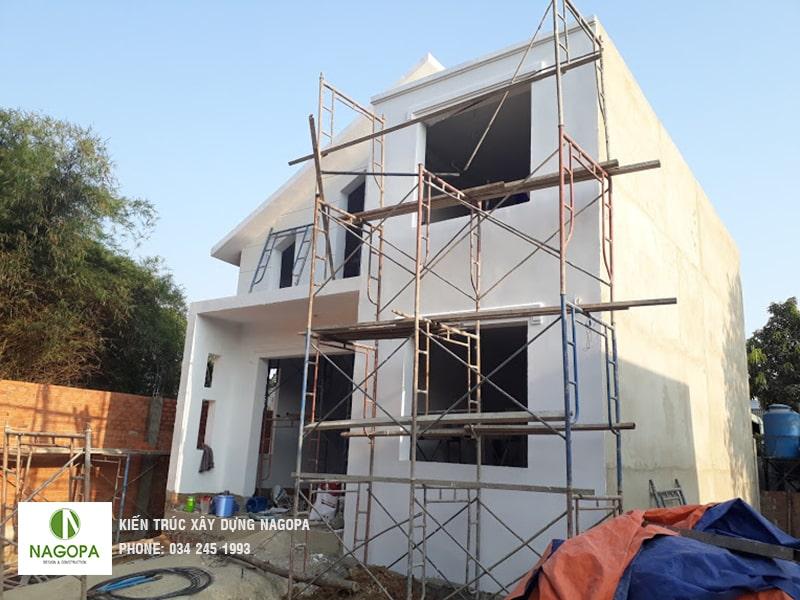 tiến độ xây dựng hoàn thiện nhà anh giang tại thủ dầu một 03
